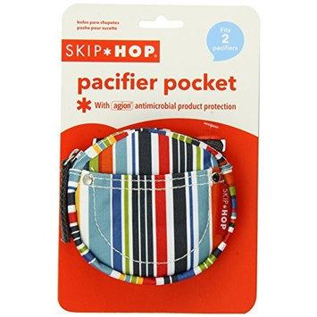 Skip Hop Pacifier Pocket, Metro Stripe