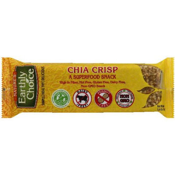 Natures Earthly Choice Nature's Earthly Choice Chia Crisp Snack Bar, 1.4 oz, (Pack of 12)