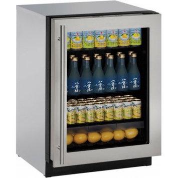 U-Line U3024RGLS00A 4.9 cu. ft. Built-in Compact Refrigerator