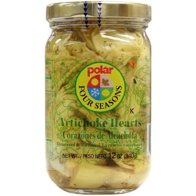 M W Polar Foods Polar Quartered Marinated Artichokes 12 Pack 12oz Jars