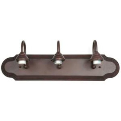 Savoy House 24 in. Bath 3-Light Bathroom Light New Bronze Finish-DISCONTINUED