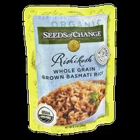 Seeds of Change Rishikesh Whole Grain Brown Basmati Organic Rice
