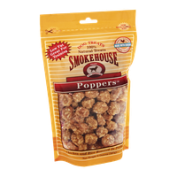 Smokehouse Poppers Natural Dog Treats