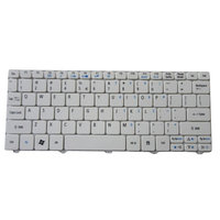 Acer America Acer Aspire One D257, D270, Happy, Happy 2 White Netbook Keyboard KB. I100A.114