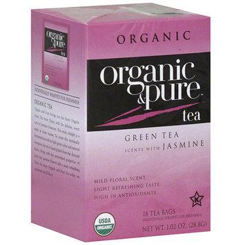 Organic & Pure Organic Green Tea Bags