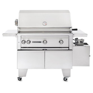 Sedona by Lynx Grills 3-Burner ADA-Compliant Stainless Steel Propane Gas Grill with Rotisserie L600ADAR-LP