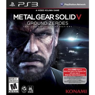 Konami Metal Gear Solid V - Ground Zeroes (PlayStation 3)