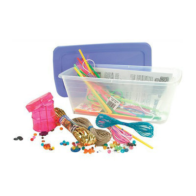 Pepperell Crafts Fashions are Cool Shoebox Activity Kit