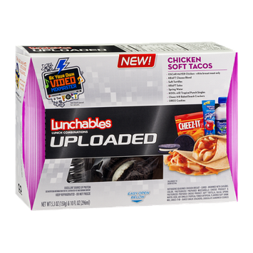 Lunchables Uploaded Chicken Soft Tacos