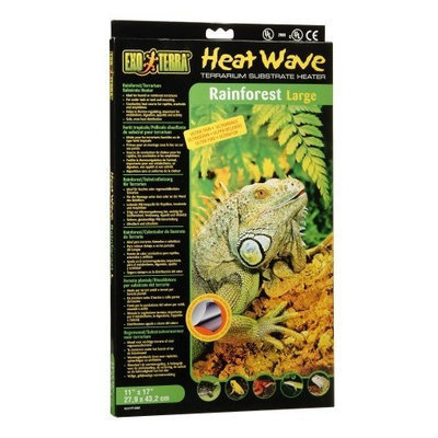 Hagen Exo Terra Heatwave Rainforest, 12-Watt/110-Volt, 11 by 17-Inch