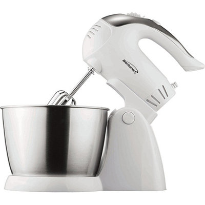 Brentwood SM-1152 200W Stainless Steel 5-Speed Stand Mixer with Bowl