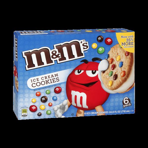 M&M'S® Ice Cream Cookies