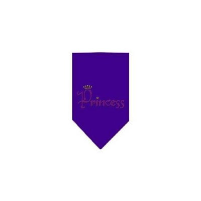 Ahi Princess Rhinestone Bandana Purple Large