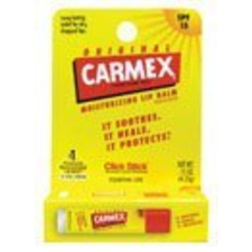 Carmex Original Lip Balm - Spf 15 0.15 oz (4.25 grams) Balm