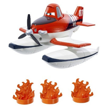 Disney Planes Fire and Rescue Scoop and Spray Firefighter Dusty