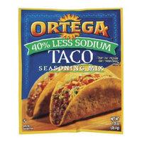 Ortega 40% Less Sodium Taco Seasoning Mix 1.25-oz.