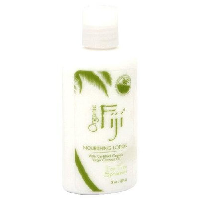 Organic Fiji Coconut Lotion Tea Tree Spearment 3 Ounces