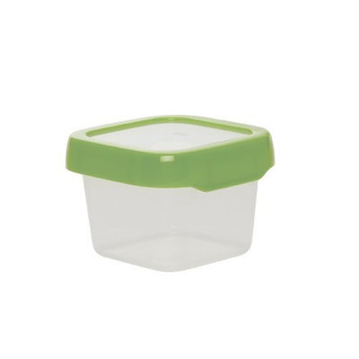 OXO Tot Top Small Square Storage Container, Green, 13.5 Ounce (Discontinued by Manufacturer)