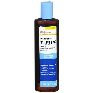 Walgreens Therapeutic T plus Tar Gel Dandruff Shampoo