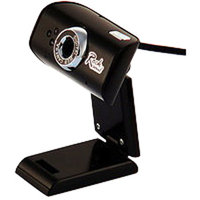 ROCKSOUL AWA Wk-105 720p HD Webcam, Black