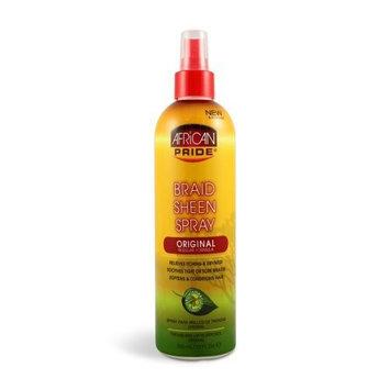 African Pride Braid Sheen Spray Original 12oz Pump