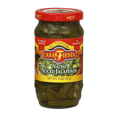 Casa Fiesta Nacho Sliced Jalapenos