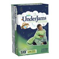 Pampers UnderJams Boys Size 8 (L/XL) Jumbo Pack 13 Count