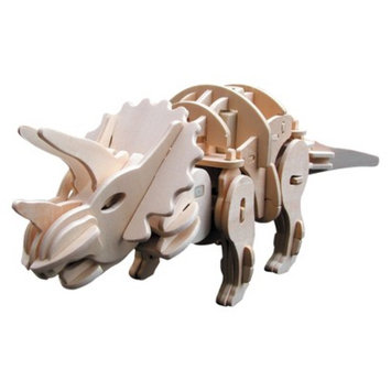 Regal Robotime 3D Wooden Robotic Puzzle Triceratops, Medium