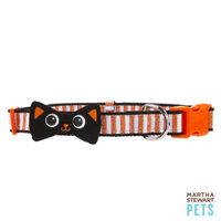 Martha Stewart PetsA Cat Bow Striped Collar