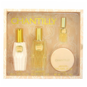 Dana Chantilly Gift Set for Women, 4 Piece, 1 set