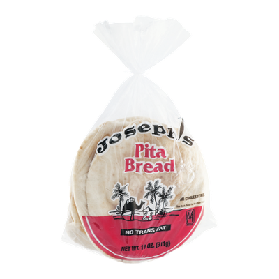 Joseph's Pita Bread No Cholesterol or Trans Fat