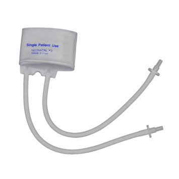 Mabis MABIS Single-Patient Use Blood Pressure Cuffs Two-Tube, Neonatal #3