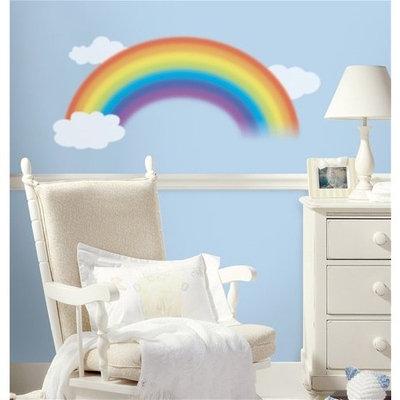 RoomMates Over the Rainbow Mega Pack Peel and Stick Nursery Wall Decal Set - 42