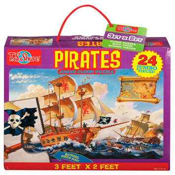 Shure Pirates Jumbo Floor Puzzle