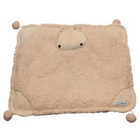 Patchwork Pet Snoozee Natural Fleece Pillow Monkey Pet Bed Pillow
