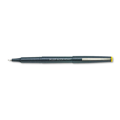 Pilot Razor Stick Porous Point Pen, Black Ink