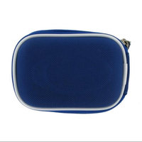 rooCASE Nylon Hard Shell (Dark Blue) Carrying Case with Memory Foam for Kodak EasyShare C195 Digital Camera