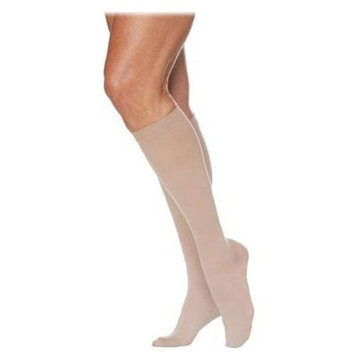 Sigvaris 780 EverSheer 20-30 mmHg Women's Closed Toe Knee High Sock - Size: S4, Color: Navy 08