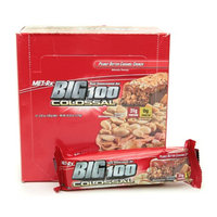 Met-Rx Big 100 Colossal Meal Replacement Bars Peanut Butter Caramel Crunch