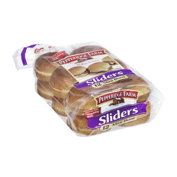 Pepperidge Farm Classic Sliders Mini Buns - 12 CT