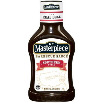 KC Masterpiece Barbecue Sauce, Southern Style, 17 Ounces (Pack of 6)