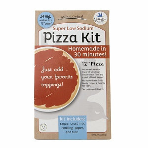 GalloLea Pizza Kits Low Sodium Whole Wheat Pizza Kit