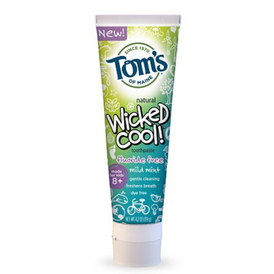Tom's OF MAINE Mild Mint Fluoride-Free Wicked Cool!™ Toothpaste