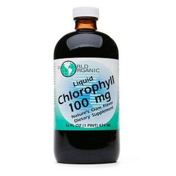World Organic Liquid Chlorophyll 100mg
