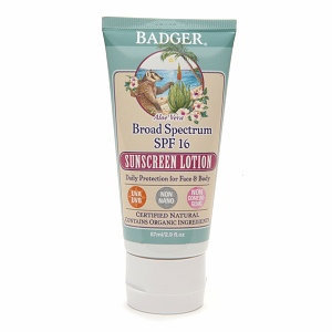 Badger Broad Spectrum Sunscreen Lotion
