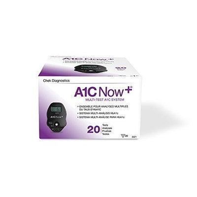 Bayer's A1CNow+TM, Hba1c Blood Monitor w/ Sampler, 20 Test Kit