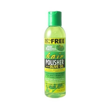 Hask Placenta Hair Polisher with Olive Oil 177ml/6oz