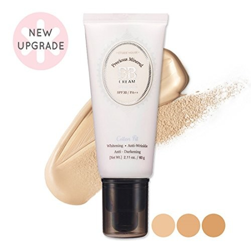 ETUDE HOUSE Precious Mineral BB Cream Cotton Fit SPF30 / PA++ 2014 New - W24 Honey beige