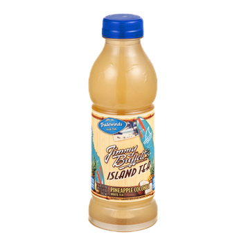 Tradewinds Iced Tea Jimmy Buffett's Island Tea Pineapple Coconut White Tea