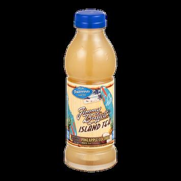 Tradewinds Iced Tea Jimmy Buffett's Island Tea Pineapple Coconut White Tea
